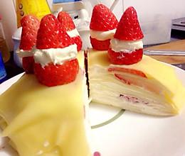 草莓千层的做法