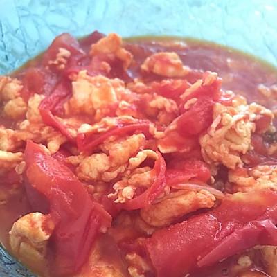 西红柿鸡蛋卤(拌面)