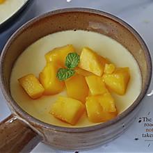 一次成功的芒果牛奶布丁