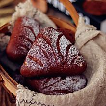 核桃提子巧克力面包