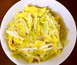 韭黄炒蛋的做法