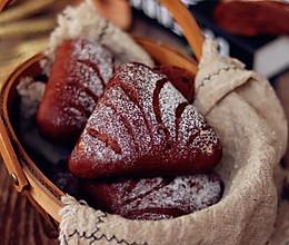 核桃提子巧克力面包的做法
