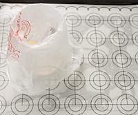入口即化酸奶溶豆#美的智烤大师烤箱#的做法图解1