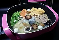 清汤什锦火锅#利仁火锅节#的做法