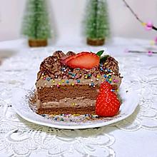 草莓可可奶油蛋糕