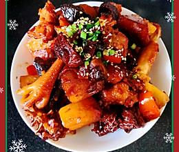 电饭煲版土豆香菇焖鸡块的做法