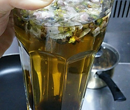 缓解便秘的桃花茶的做法
