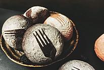 彩色小面包——桑葚和火龙果面包的做法