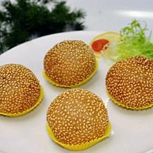 传统美食 广式炸煎堆