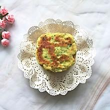 #母亲节,给妈妈做道菜#奶香芋泥鸡蛋饼(原创)