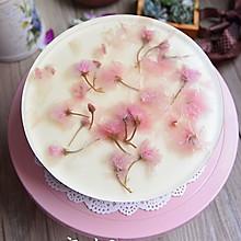 樱花红丝绒芝士蛋糕#豆果5周年##浪漫樱花季#