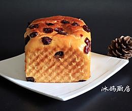 蔓越莓面包的做法