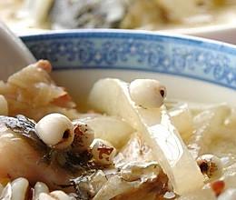 鲫鱼萝卜薏米汤的做法