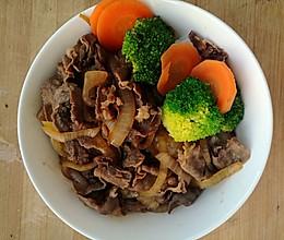 牛肉饭的做法