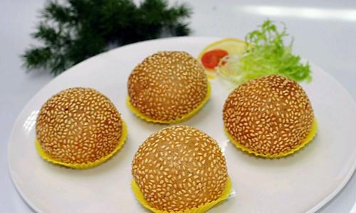 传统美食 广式炸煎堆的做法