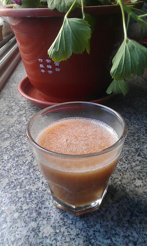 蜜桃绿茶的做法