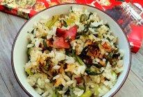 锅巴焦香的上海菜饭——铸铁锅的妙用的做法