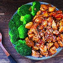 #肉食者联盟# 黑椒鸡腿饭