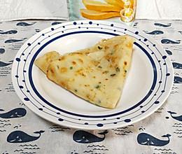 用高筋面粉也可以做好吃的葱香软饼的做法