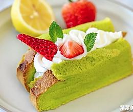 菠菜草莓戚风三文治|酸甜细腻的做法