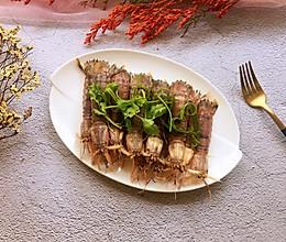 #肉食者联盟#清蒸皮皮虾的做法