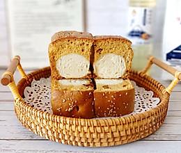 枣糕夹面包的做法