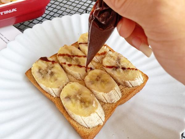 蜂蜜蕉香烤吐司#春季减肥,边吃边瘦#