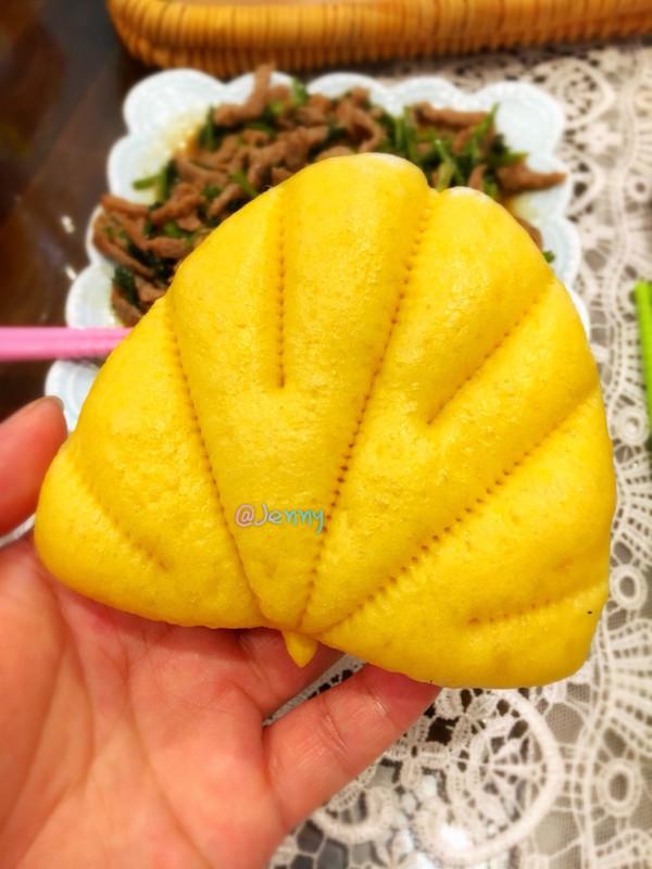 南瓜荷叶饼的做法