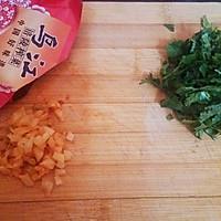 香辣牛肉榨菜豆腐花的做法图解3