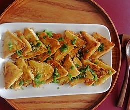 #营养小食光#香煎豆腐的做法