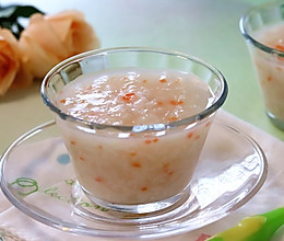 胡萝卜银耳雪梨粥 ,清肺润肺,抵御雾霾的做法