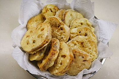 春节必吃菜—传统炸藕夹