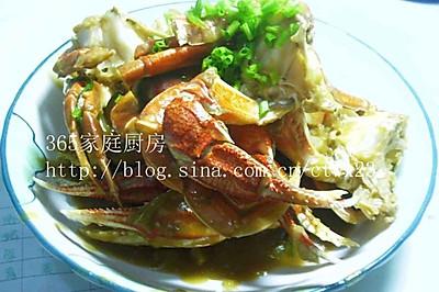 姜葱炒花蟹的做法大全