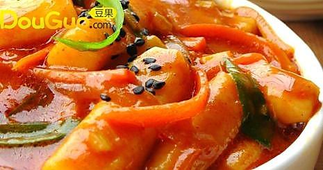 韩式炒辣年糕的做法