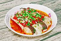 #我为奥运出食力#剁椒蒸鱼腩的做法