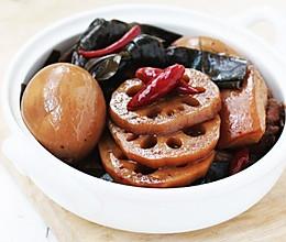 香辣卤藕片的做法