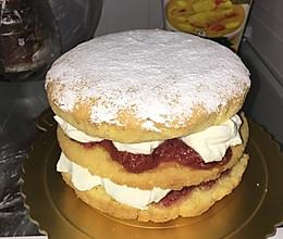 维多利亚海绵蛋糕-旅游卫视蛋糕配方的做法