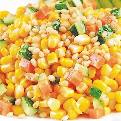 虾仁松子玉米~清甜可口