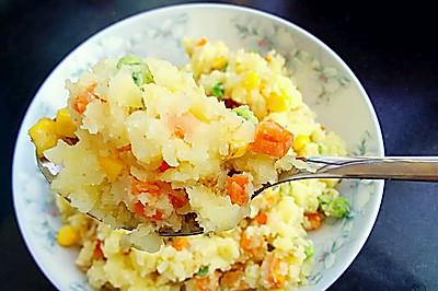 好吃的减脂期主食――土豆泥