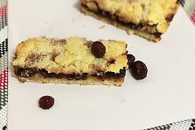 椰香蔓越莓酥饼