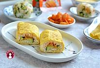 #童年不同样,美食有花样# 鸡蛋包饭卷的做法