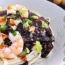 韩式海鲜炸酱面
