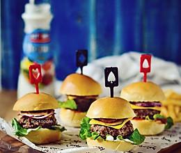 【苏打牛肉迷你汉堡】的做法