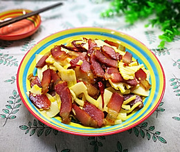 春笋炒腊肉(时令鲜菜)的做法