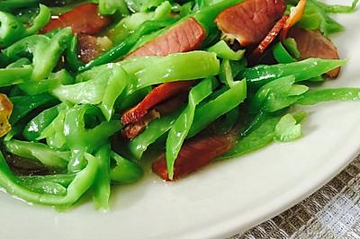 青椒小炒腊肉