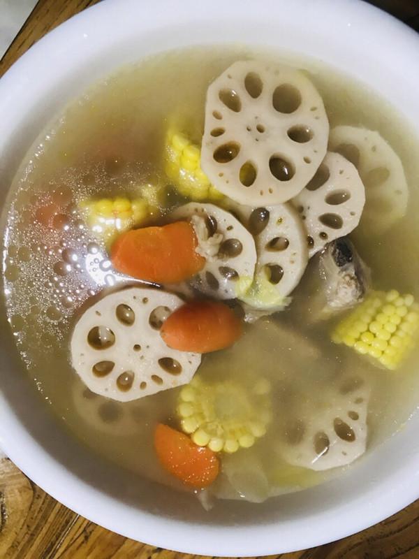 排骨莲藕汤秋季之最健脾开胃润肠通便补中益气的做法