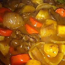 咖喱牛肉土豆胡萝卜青椒洋葱