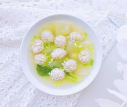 豆腐丸子汤—软嫩鲜香入口即化的做法