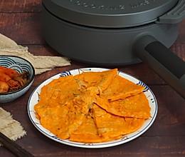 10分钟快手早餐韩式萝卜泡菜饼的做法