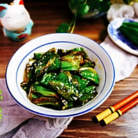 #花10分钟,做一道菜!#糖醋虎皮椒的做法图解5